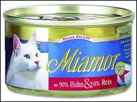 Konzerva MIAMOR Filety kuře + rýže (100g)