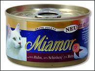 Konzerva MIAMOR Filety kuře + šunka (100g)