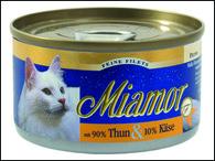 Konzerva MIAMOR Filety tuňák + sýr (100g)