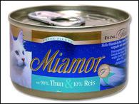 Konzerva MIAMOR Filety tuňák + rýže (100g)