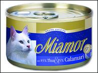 Konzerva MIAMOR Filety tuňák + kalamáry (100g)