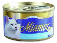 Konzerva MIAMOR Filety tuňák + krevety (100g)
