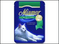 Kapsička MIAMOR Filety tuňák + zelenina (100g)