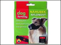 Náhubek DOG FANTASY nylonový černý č.1 (1ks)