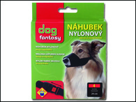 Náhubek DOG FANTASY nylonový černý č.4 (1ks)