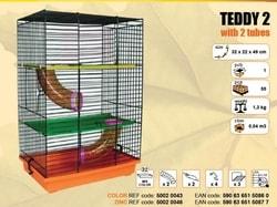 Inter zoo Klec TEDDY II. 320x220x490mm
